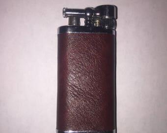 Custom Leather Lighter Sleeve