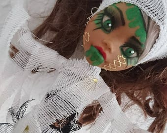 Mummy Alive Ooak Monster High Doll
