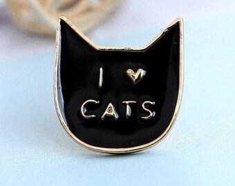 Cat Brooche