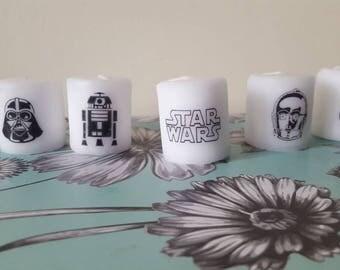 star wars candle set