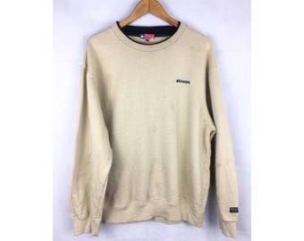 KAEPA USA Long Sleeve Sweatshirt Pull Over With Small embroidered Logo Saiz LL