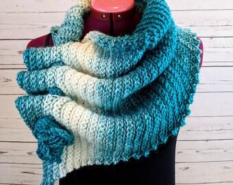Wool Scarf Women, Knit Scarf, Wool Scarf, Scarf Women, Knitted Scarf, Womens Scarf, Scarf Knitted, Crochet Scarf, Keyhole Scarf