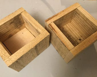 Pallet Wood Box