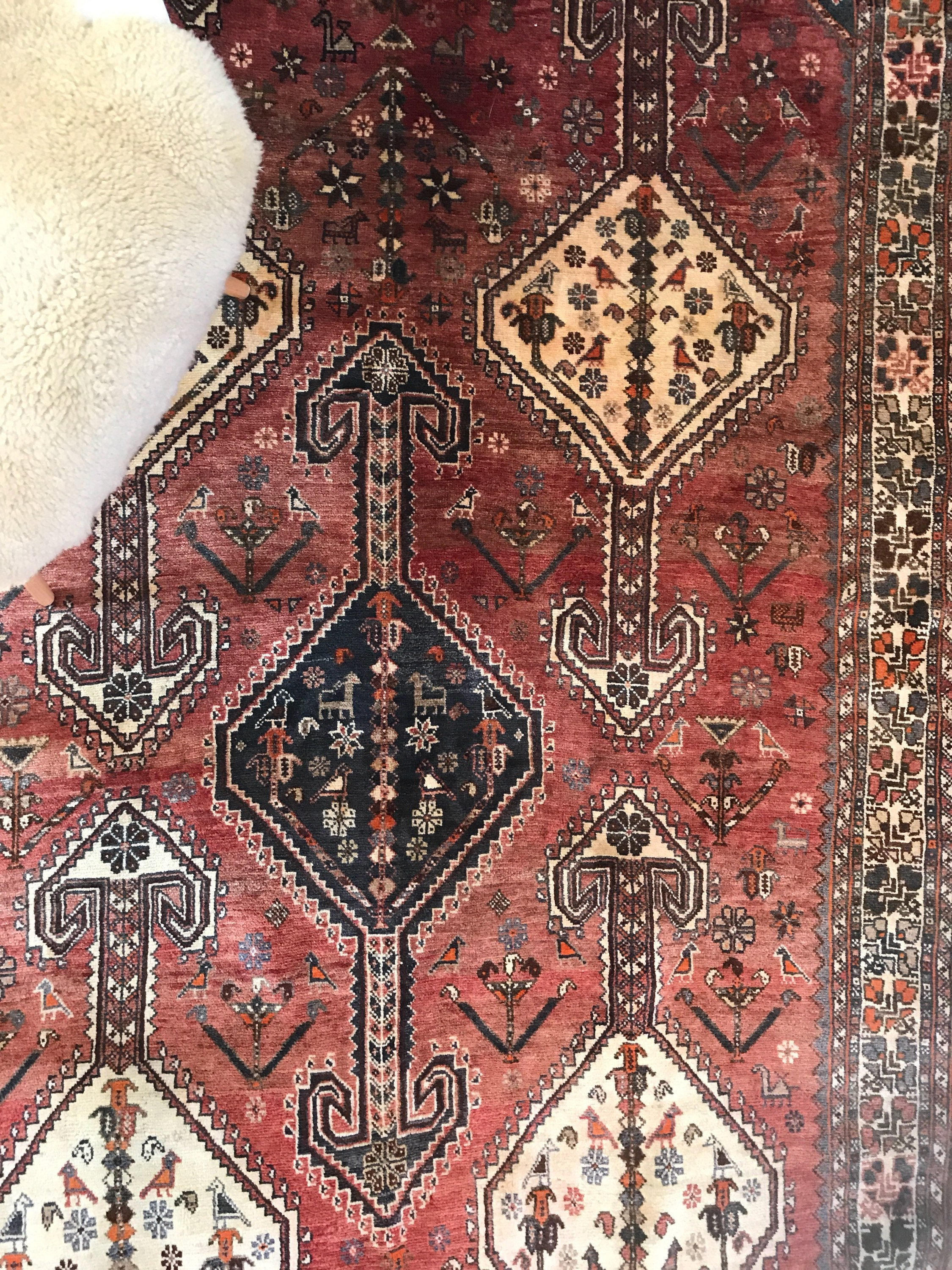 and layered home on found of new bohemian with kept i last store a not price to rug slightly decor the img rugs thrift m so layering smaller in hunting another one month splurge same