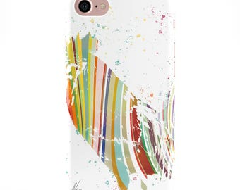 Rooster iPhone & Samsung Phone Case Colourful Chicken Phone Cover