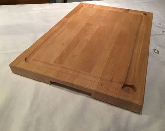 Solid beech chopping/carving board