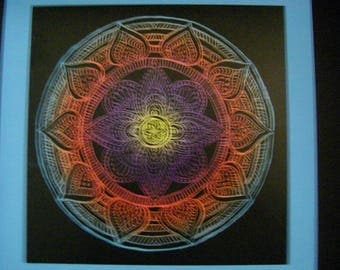 Vibrant Mandalas    Wall hangings, wall decor, home decor, contemporary art
