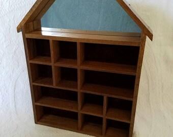 Trinket Shadowbox Shelf