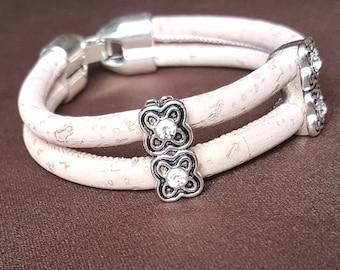 Double pink bracelet