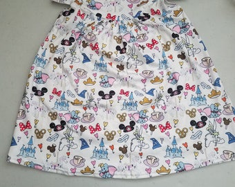 Girls' Disney World Pearl Dress