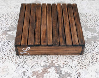 Real Wood Wedding -  Wedding Cake Stand