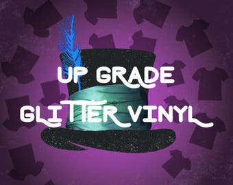 Glitter Up Grade, Add Glitter To Your Hat, Use To Up Grade Your Vinyl To Glitter
