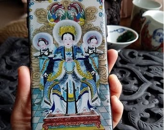 Chinese Empress relief i phone 6s 7 8 plus X  phone case