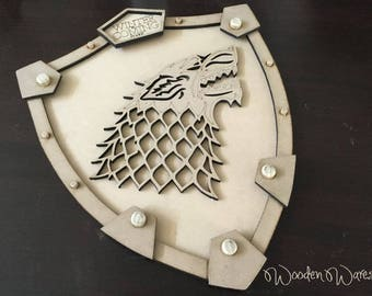 Aussie Made Winter is Coming - GOT - Game of Thrones - MDF - Made in Brisbane Australia - AfterPay Available