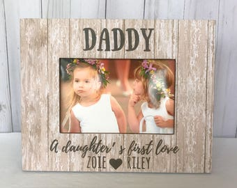 Dad GIFT Father's Day Gift Picture Frame, Gift from Daughter Personalized Gift for Dad Father's Day frame from Daughter