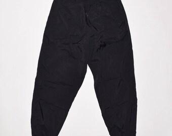 Rare 90's Vintage VTG Nike Men's Unined Nylon Windbreakers Pants Black XL