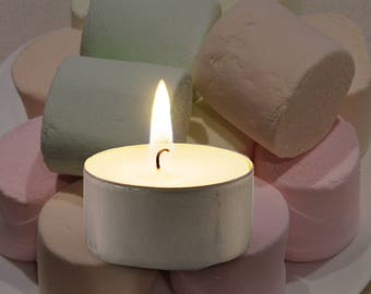 Marshmallow Scented Vegan Soy Handmade Scented Tealights