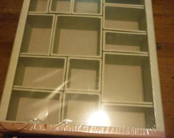 DreamscapesByCyn--Tim Holtz Shadow Large Shadow Box Removable Cubbies Idea -ology & Large shadow box   Etsy Aboutintivar.Com