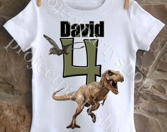 Dinosaur Birthday Shirt, Dinosaur Shirt