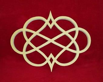 Double heart infinity