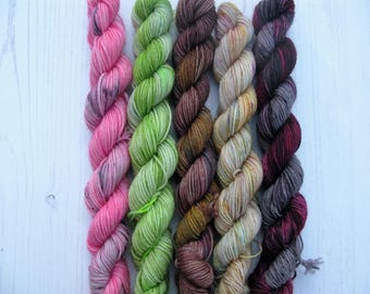 4 ply Buffy Inspired Mini Skeins