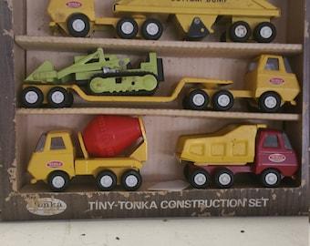 5 piece Tiny Tonka construction set