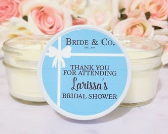 Bridal Shower Candle Favors - Bride and Co Bridal Shower - Candle Favors for Bridal Shower - Bridal Shower Favors - Bridal Shower Candle
