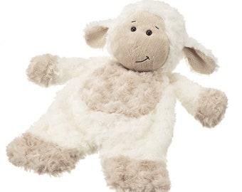 Flat-A-Pat Cream Lamb By Ganz