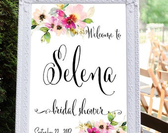 Bridal Shower Welcome Sign, Bridal shower sign, Bridal Tea Sign, Baby Shower sign, Bridal Shower decoration, Bridal Brunch Sign #10