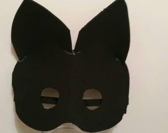 Neoprene Kitten Half mask