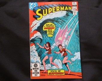 Superman #372 (Superman 2021 Storyline) D.C. Comics 1982