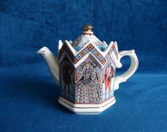 Sadler 4442 tea pot, Elizabeth I, Queen of England 1558-1603
