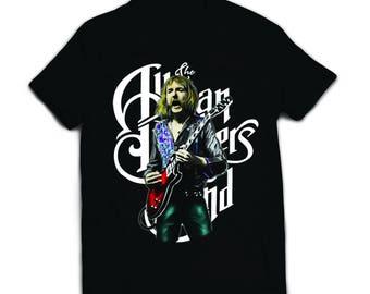 DUANE ALLMAN - SKYDOG T shirt, Allman Brothers Guitarist, Classic Rock Music Icon T shirt, Allman Bros t-shirt