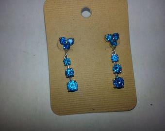 swiss blue earrings