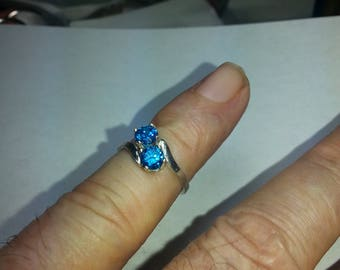 swiss blue ring