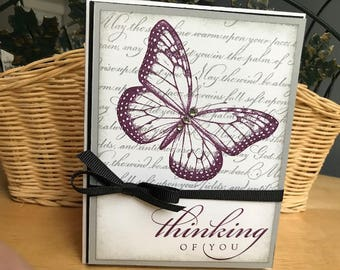 Thinking of You Note Card, Sympathy Card