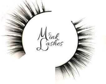 Lena Mink Lashes - Mink False Eyelashes