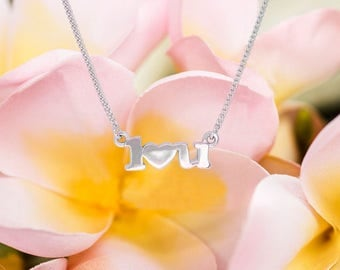 I Love You Necklace/ I Heart You Necklace