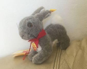 Small Rabbit - Vintage Rabbit - Steiff Rabbit