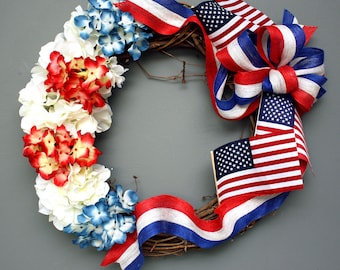 Patriotic Wreaths, 4th of July Wreath, 4th of July Wreaths, Summer Wreath,  Wreath, Patriotic Wreath, July 4th Wreath, Front Door Wreath