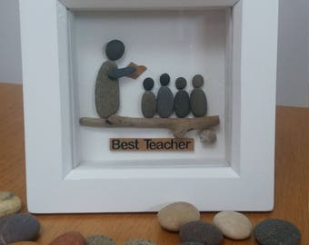 Teacher pebble picture