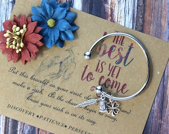 The Best Is Yet To Come Wish Bangle, Wish Upon Your Wrist, Phoenix Wish Bangle, Rise Up From the Ashes Phoenix Wish Bangle