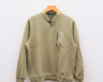 Vintage GRAND SLAM Munsingwear Green Sweater Sweatshirts