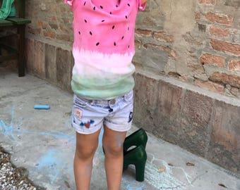 T-shirt watermelon Tie Dye