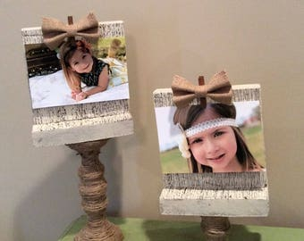 Rustic Picture Frame Set
