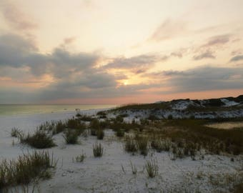 Digital 8x10 Print of Sunset at the Dunes - Photograph Instant Download