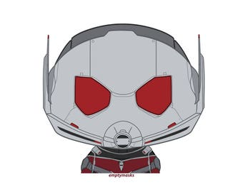 Scott Land / Ant-Man - Chibi Head Sticker