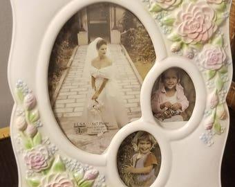 Vintage Elsa L Musical Photo Frame 1994