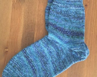 Hand cranked socks