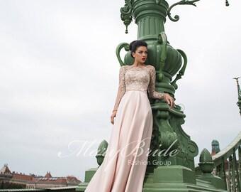 Budapest- Evening Dress V-054